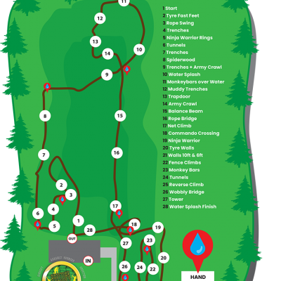 Ayrshire Assault Course Layout